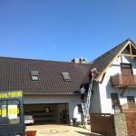 Montaż piorunochronu - dom jednorodzinny w Koninie